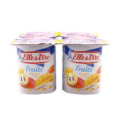 ELLE&VIRE LOW FAT W/ MANGO 125 GM