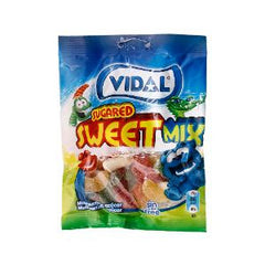 VIDAL SUGARED SWEET MIX CANDY FRUIT100 GR