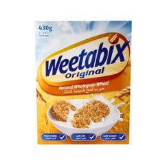 WEETABIX WHEAT CEREAL LOW FAT 430 GR