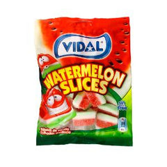 VIDAL WATER MELONS SLICES CANDY FRUIT 100 GR