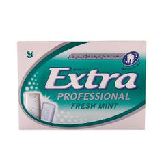WRG EXTRA PROFESSIONAL (FRESH MINT) GUM 14 GM