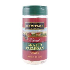 A.HERITAGE GRATED PARMESAN CHEESE 227 GR