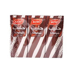 KDD CHOCOLATE MILK 180 ML 6 PCS