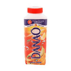 DANAO JUICE MILK ORA-BANA-STRW 180 ML