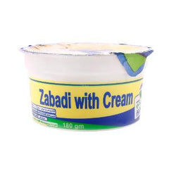 AL-JUNEIDI ZABADI WITH CREAM 200 GR