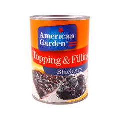 AMERICAN GARDEN BLUEBERRY PIE FILLING 595GR.