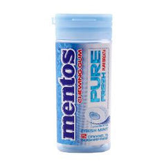 MENTOS CHEWING GUM PURE FRESH MINT SUGAR FREE 24 GR35331