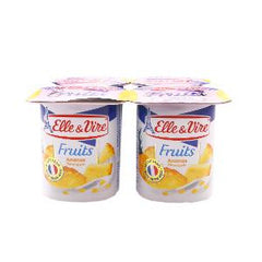 ELLE&VIRE LOW FAT PINEAPPLE 125 GM