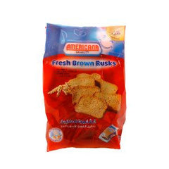 AMERICANA FRESH BROWN RUSKS RED 375 GR