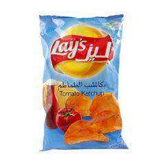 LAY'S NATURAL POTATO CHIPS W/KETCHUP FLV 170 GR