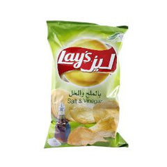 LAY'S NATURAL POTATO CHIPS W/SALT & VINEGAR 170 GR
