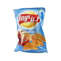 LAY'S NATURAL POTATO CHIPS W/KETCHUP FLV 35 GR