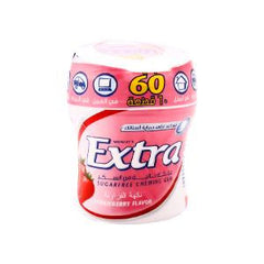 WRG-EXTRA BOTTLE STRAWBERRY 60 PCS
