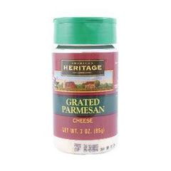 A.HERITAGE GRATED PARMESAN CHEESE 85 GR