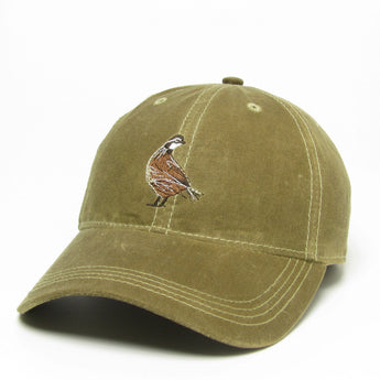 Waxed Cotton Hat Khaki