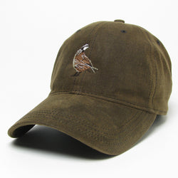 Dark Brown Waxed Cotton Hat
