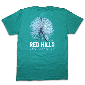 Long Leaf Pine Short Sleeve Tee Shirt Green