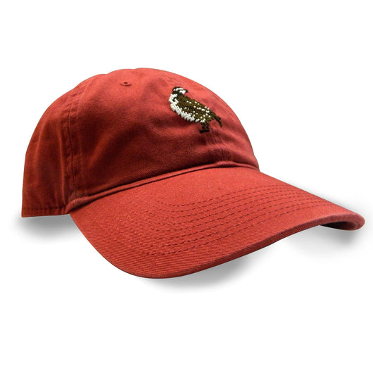 Needlepoint Hat With Quail logo