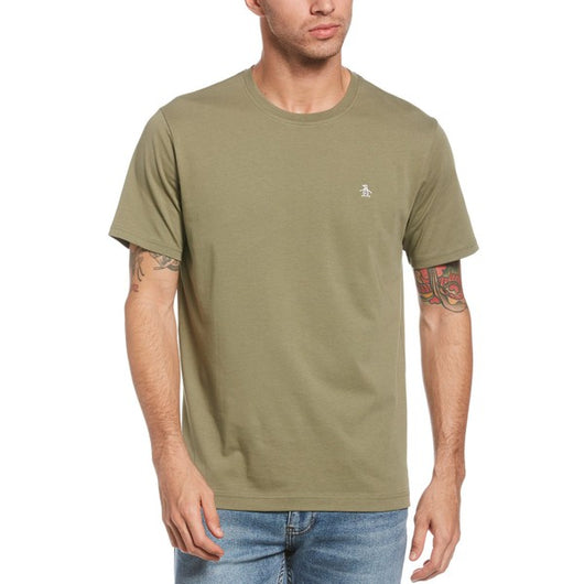 PIN POINT EMBROIDRED LOGO T-SHIRT