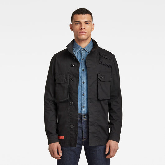 Utility Straight Overshirt