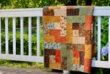 Fall Impressions Flannel Quilted Throw Kit