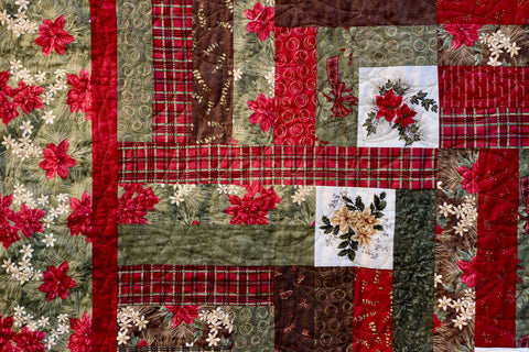 Forever Green Cotton Quilt Kit
