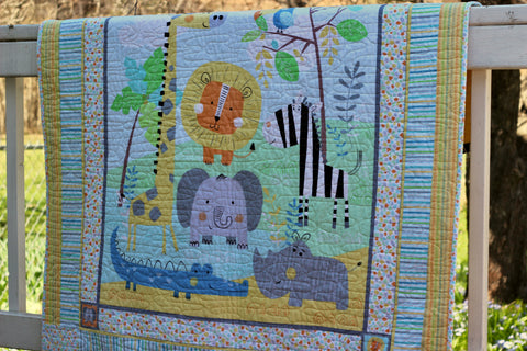 Jungle Jamboree Quilt Kit