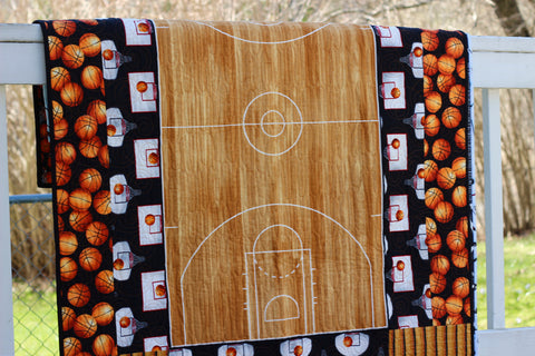 Dunk Basketball Quilt Kit