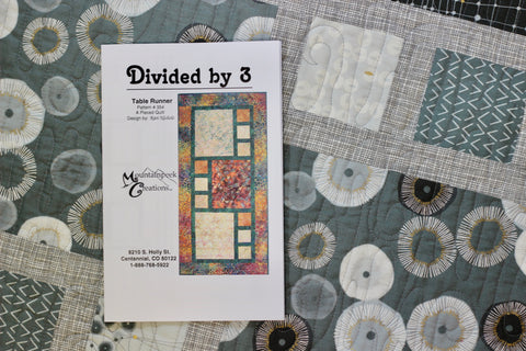 Divided by 3 Table Runner Kit