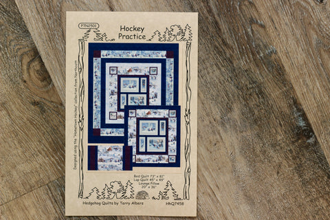 Hockey Practice Quilt Kit