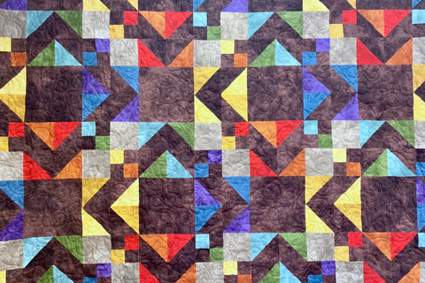 Diamonds in the Rough Quilt Kit