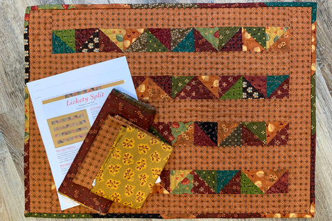 Lickety Split Miniature Quilt Kit