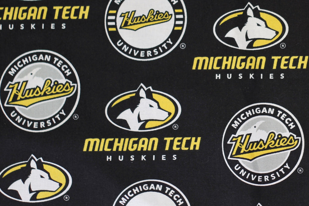 Michigan Tech Black Cotton