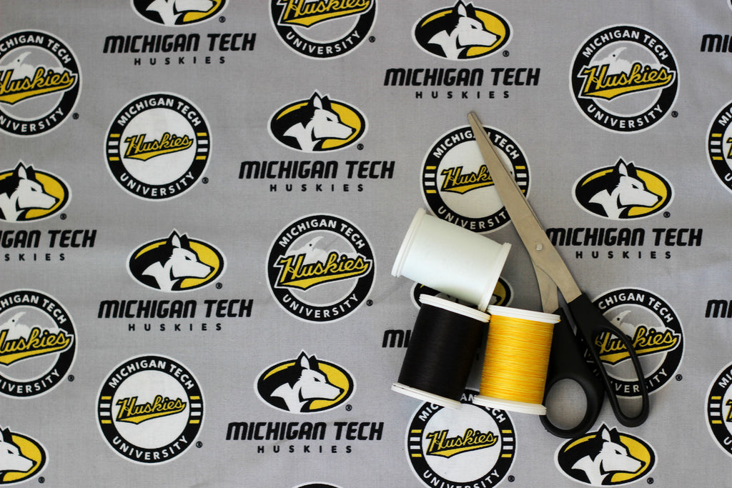 Michigan Tech Grey Cotton