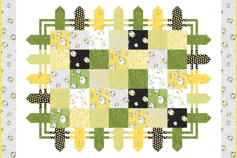 Sheeps and Peeps Quilt Kit