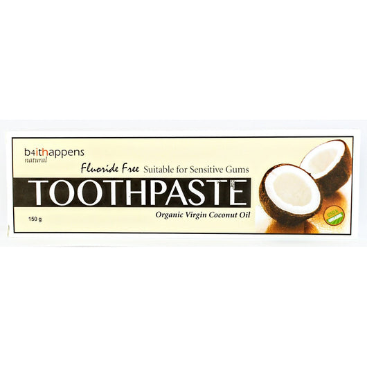 Organic Virgin Coconut Oil Toothpaste (150g)