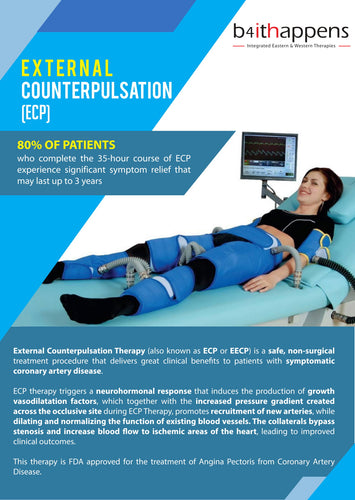 Enhanced External Counter Pulsation (ECP) - 5 Sessions-Service-B4ItHappens Sdn Bhd