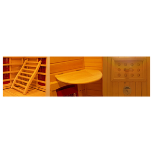 Far Infrared (FIR) Sauna Machine [Fits 2 Person]-B4ItHappens Sdn Bhd