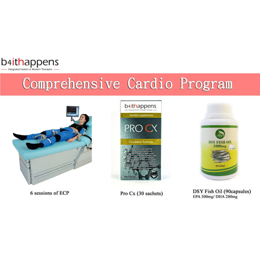 Comprehensive Cardio Program- FLASH SALES! Save up to RM1187.20