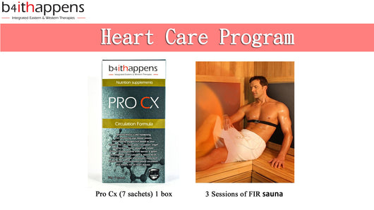 Heart Care Program (For 1 Week) FLASH SALES, Save Up To RM105