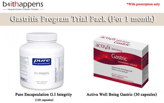 Gastritis Program Trial Pack - FLASH SALES, 25% OFF, Save Up To RM85