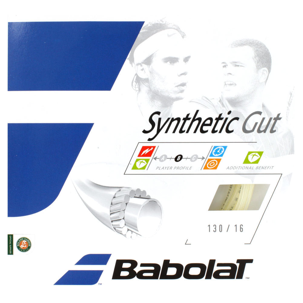 Babolat Synthetic Gut 16 Adult Size Tennis Restring