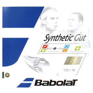 Babolat Synthetic Gut 16 Restring