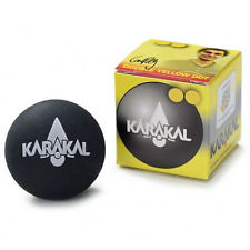 Karakal Pro Double Yellow Dot Squash Ball