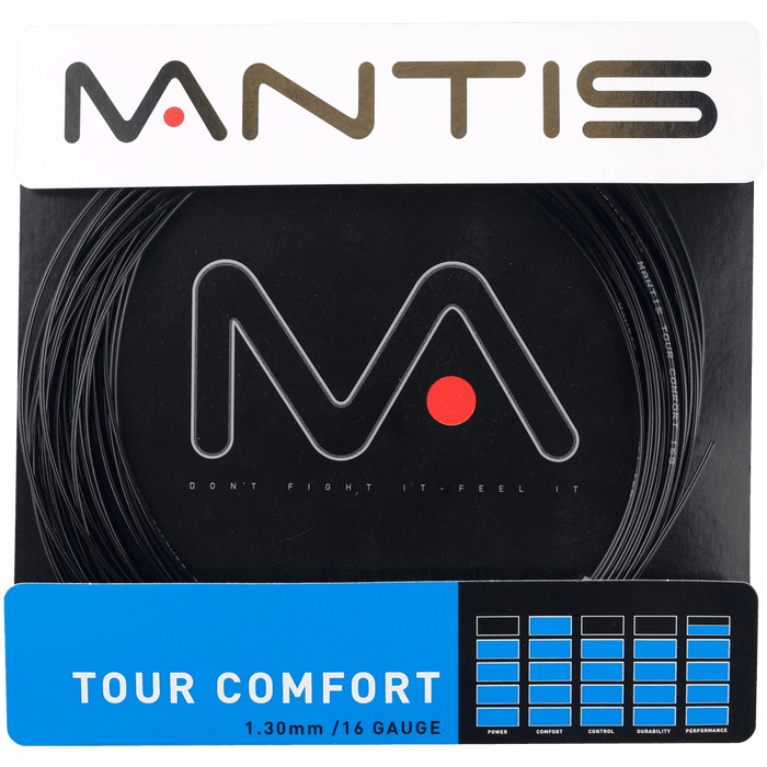 Mantis Tour Comfort 16 Adult Tennis Restring