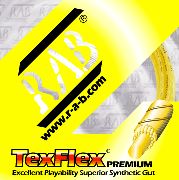 RAB Tex Flex 16 Junior Size Tennis Restring