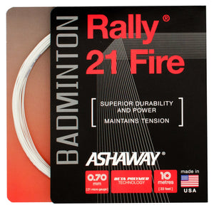 Ashaway Rally 21 Fire Badminton Restring