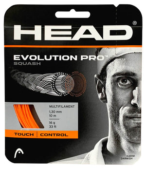 Head Evolution Pro 17 Squash Restring