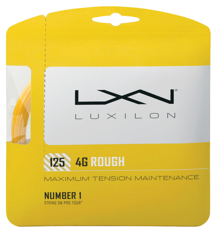 Luxilon 4G Rough 16L Restring