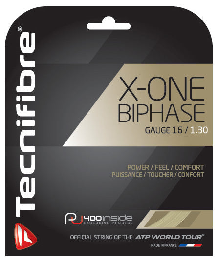 Tecnifibre X-One Biphase 16 Adult Size Tennis Restring